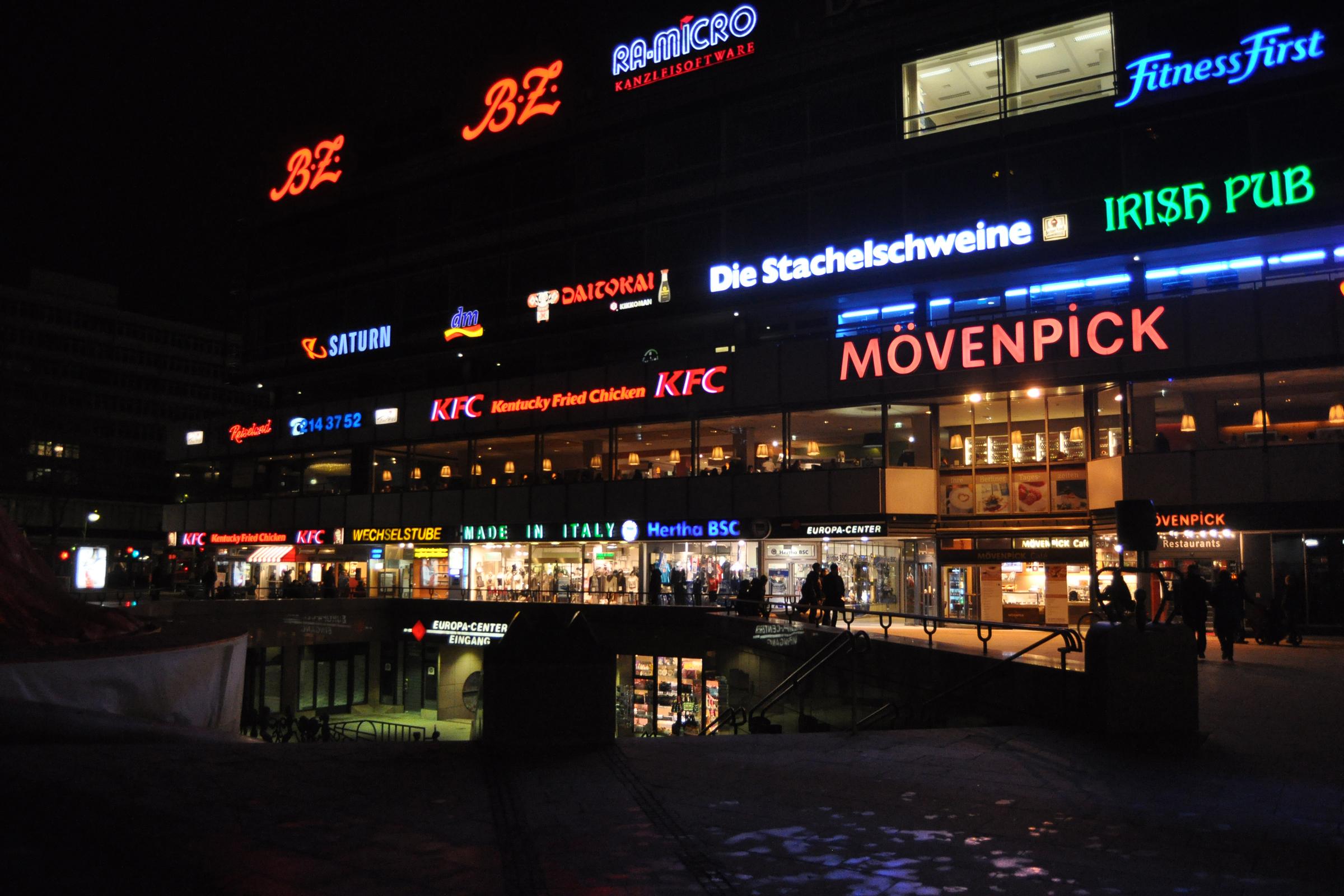 Europacenter Breitscheidplatz