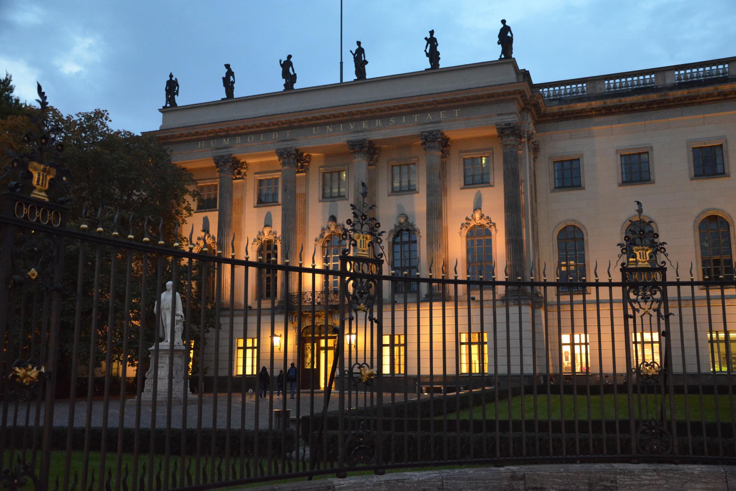 Humboldt-Universität in Mitte. Foto: Ulrich Horb
