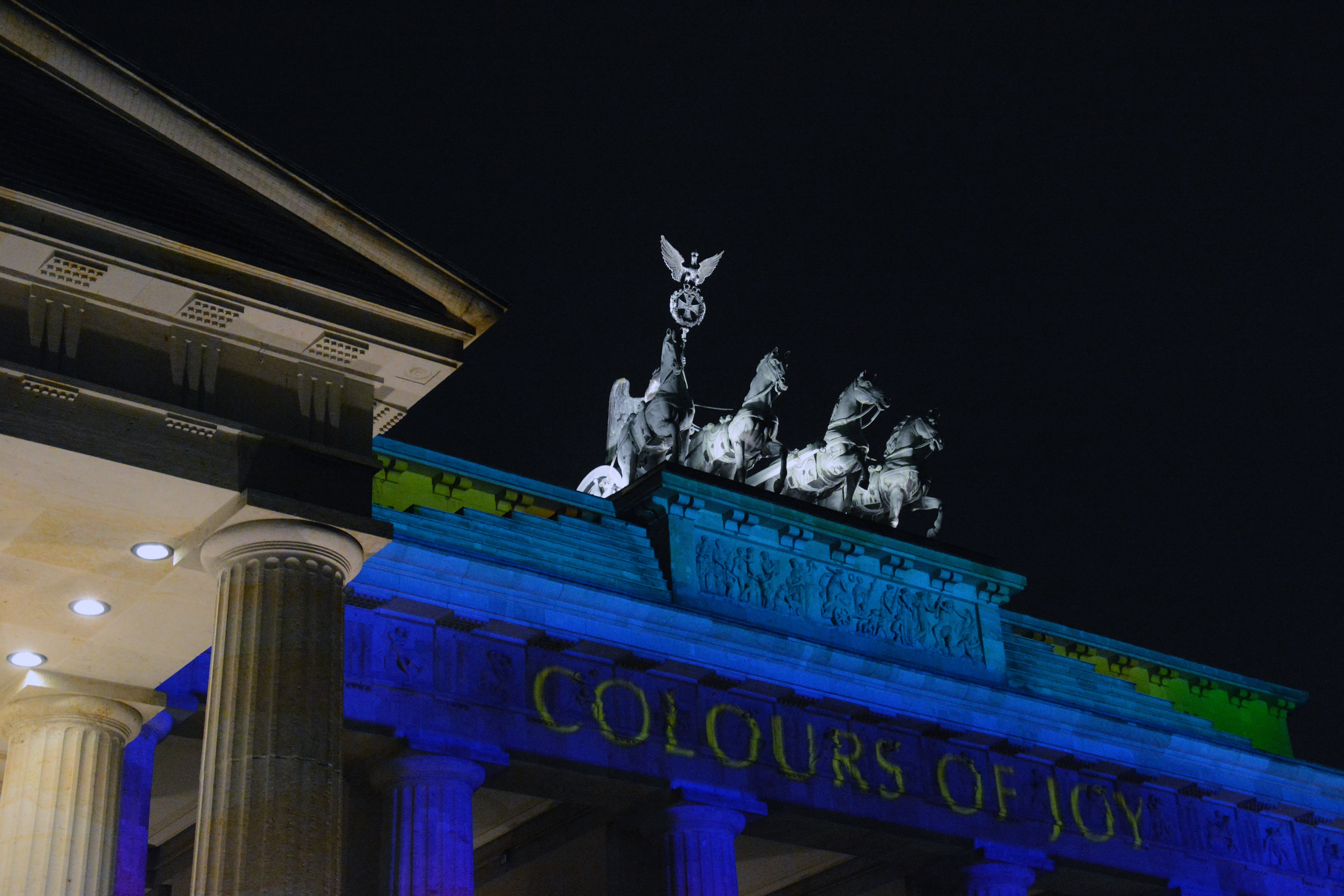 Festival of Lights 2014: Brandenburger Tor. Foto: Ulrich Horb