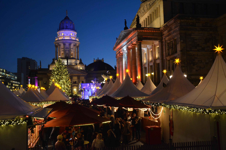 Weihnachtsmarkt am Gendarmenmarkt. Foto: Ulrich Horb