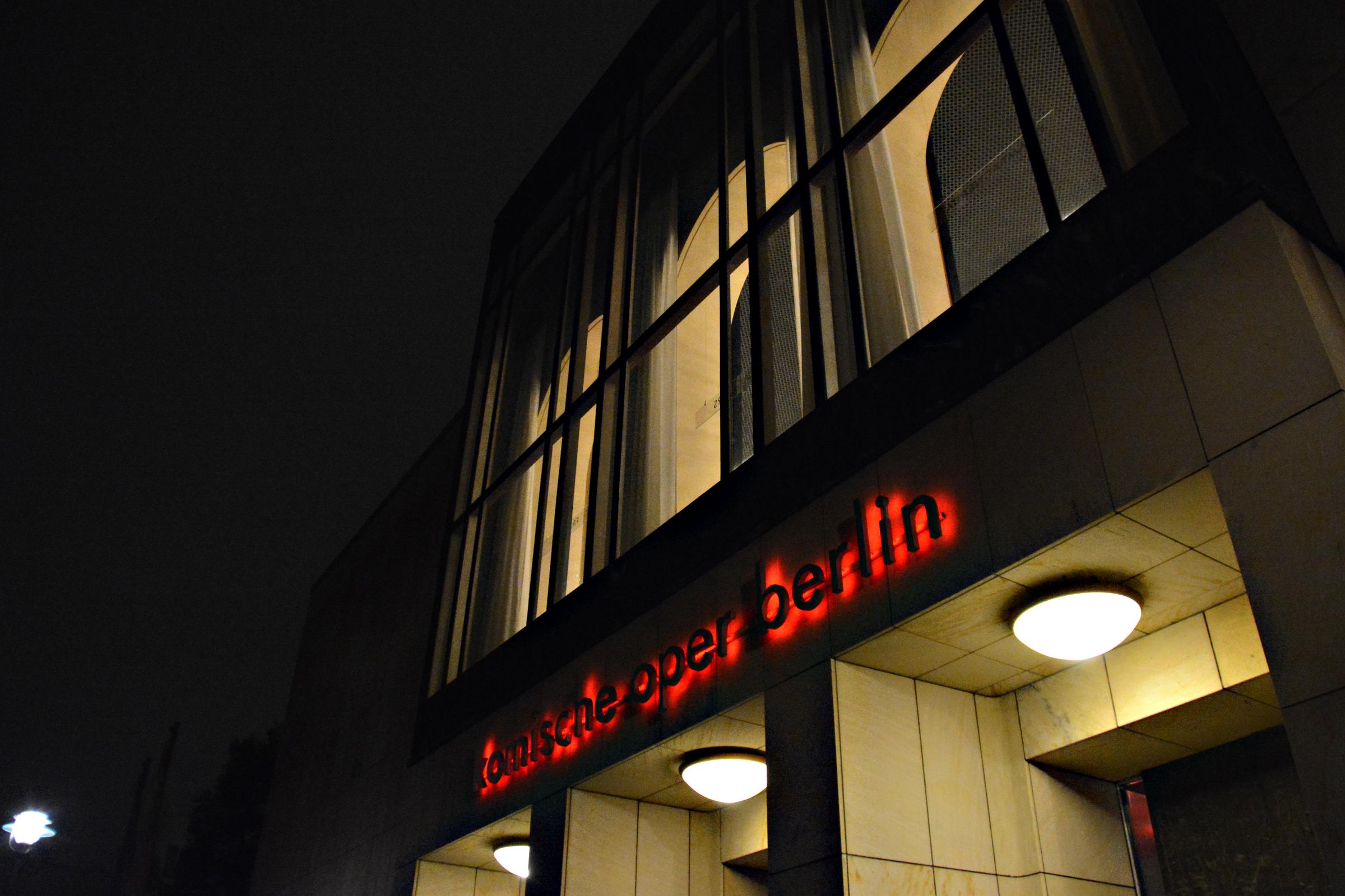 Komische Oper Berlin. Foto: Ulrich horb