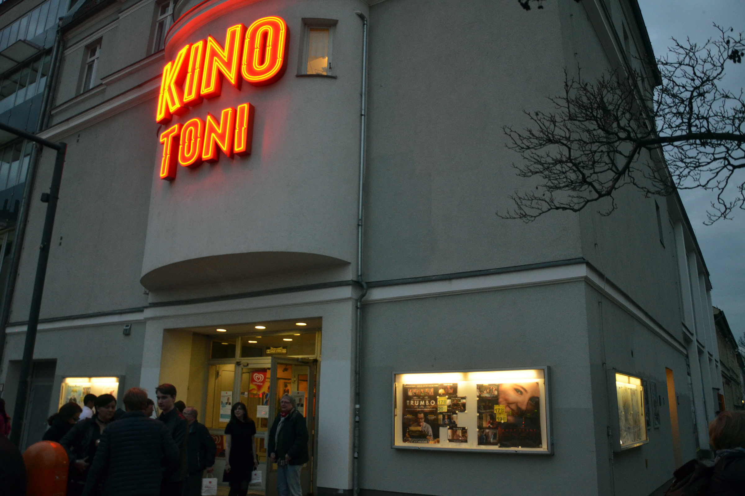 Eingang zum Kino Toni. Foto: Ulrich Horb