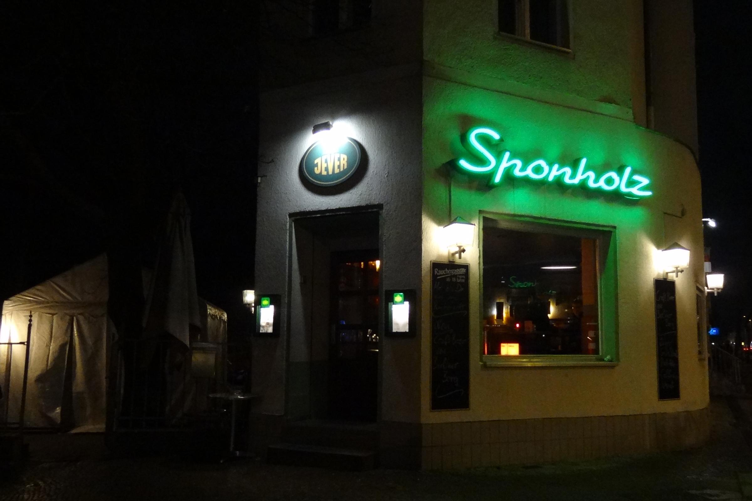 Sponholz, Friedenau. Foto: Ulrich Horb