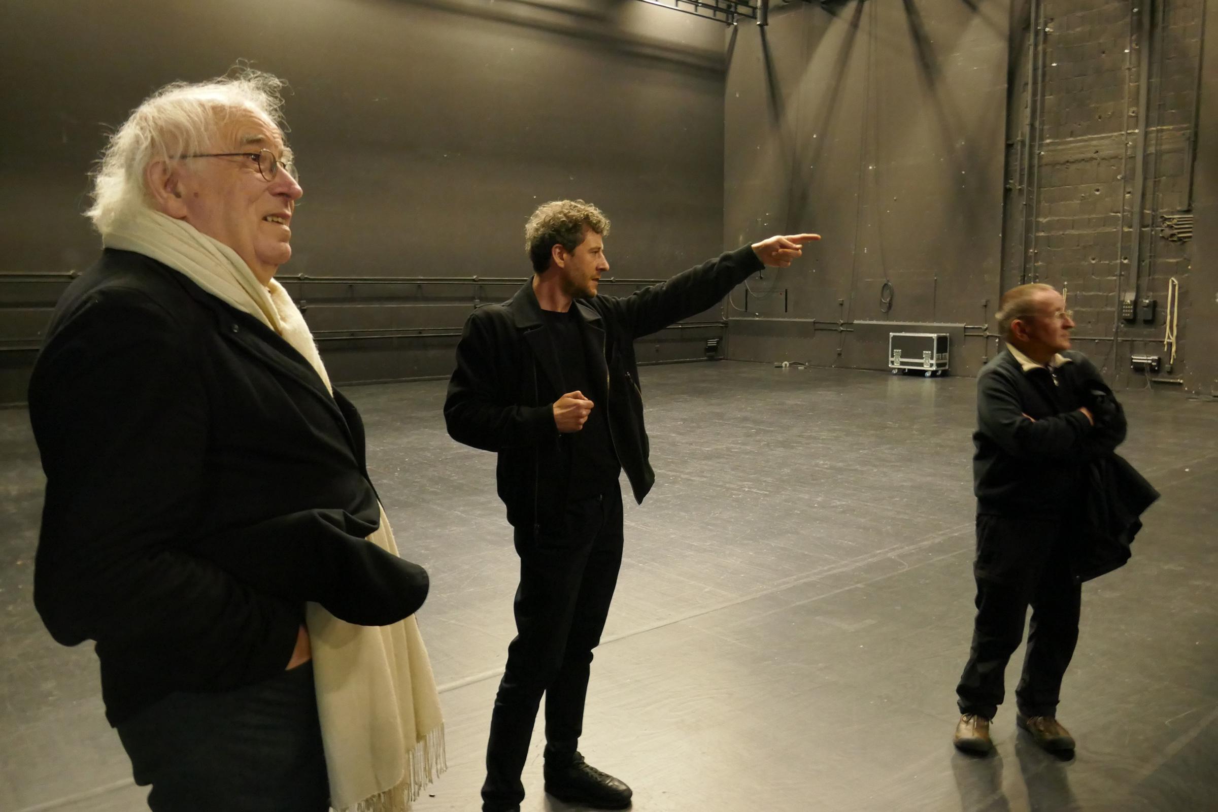 HAU2: Bühne. Foto: Ulrich Horb