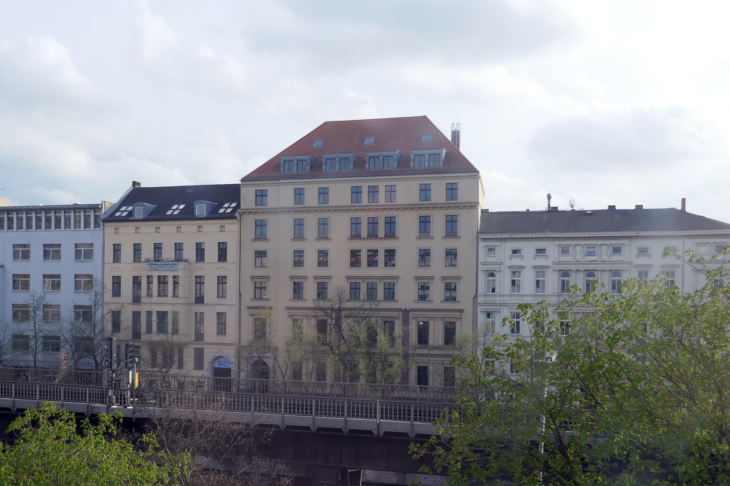 Blick zum HAU 3. Foto: Ulrich Horb