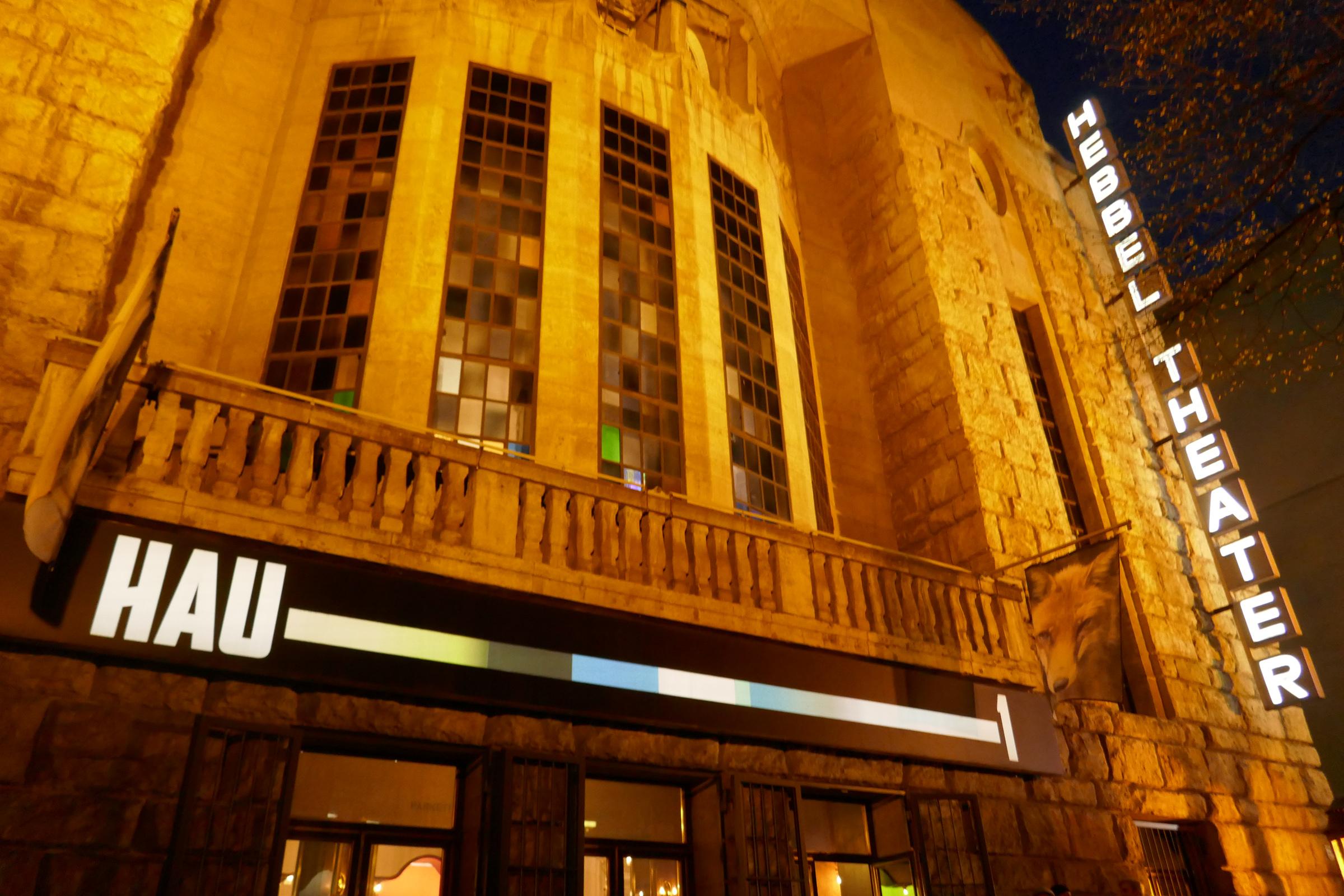 HAU: Hebbel-Theater in der Stresemannstraße. Foto: Ulrich Horb