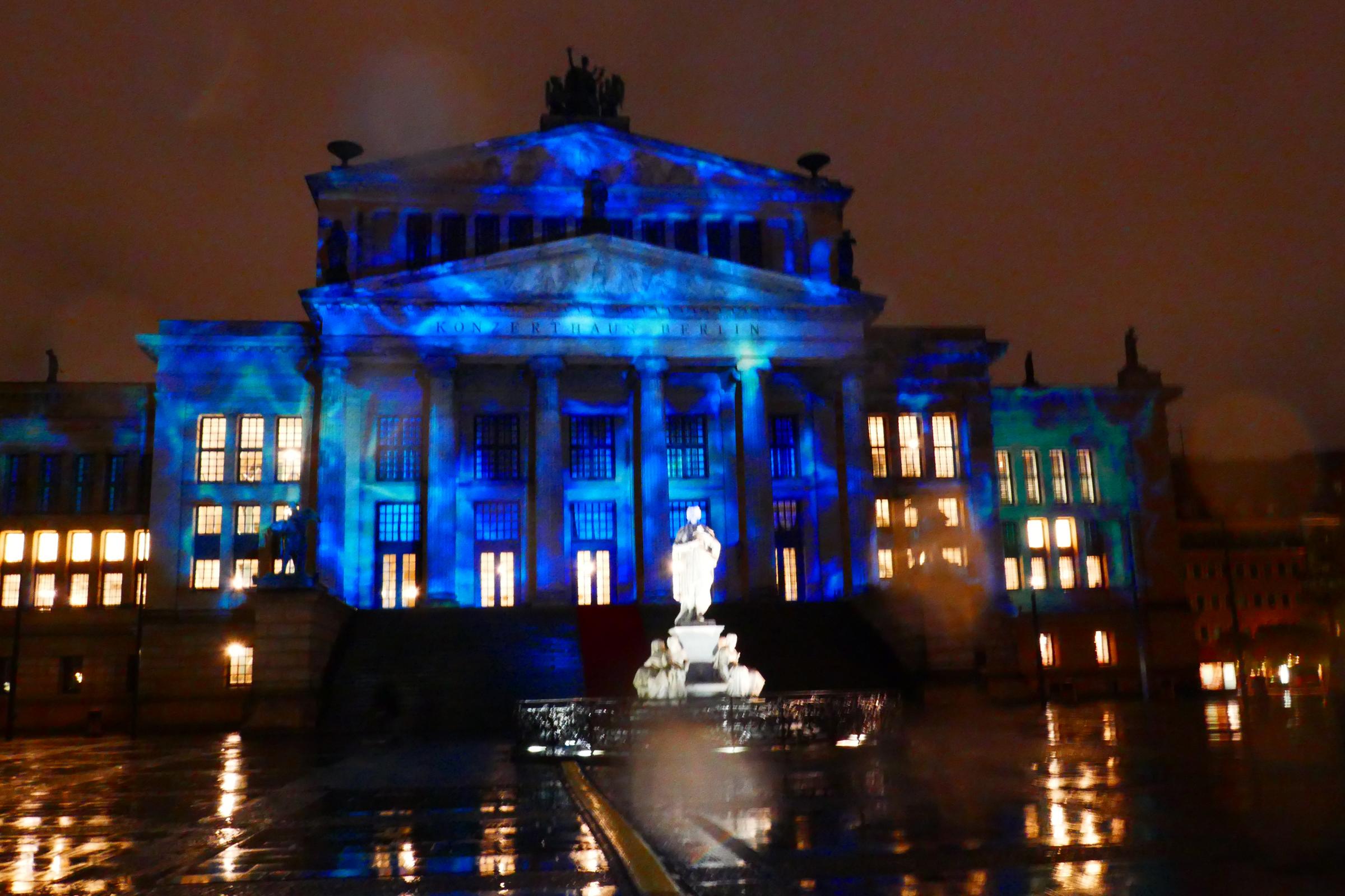 Festival of Lights 2017: Gendarmenmarkt. Foto: Ulrich Horb
