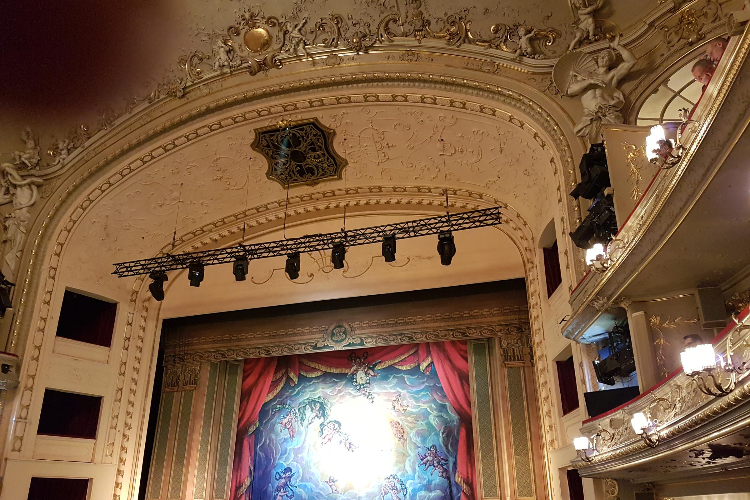 "Blick in die ""Komische Oper"". Foto: Ulrich Horb"