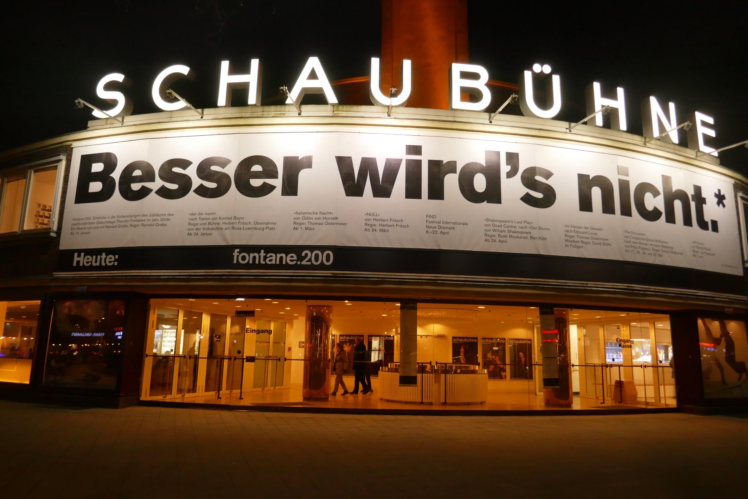 Schaubühne am Lehniner Platz. Foto: Ulrich Horb