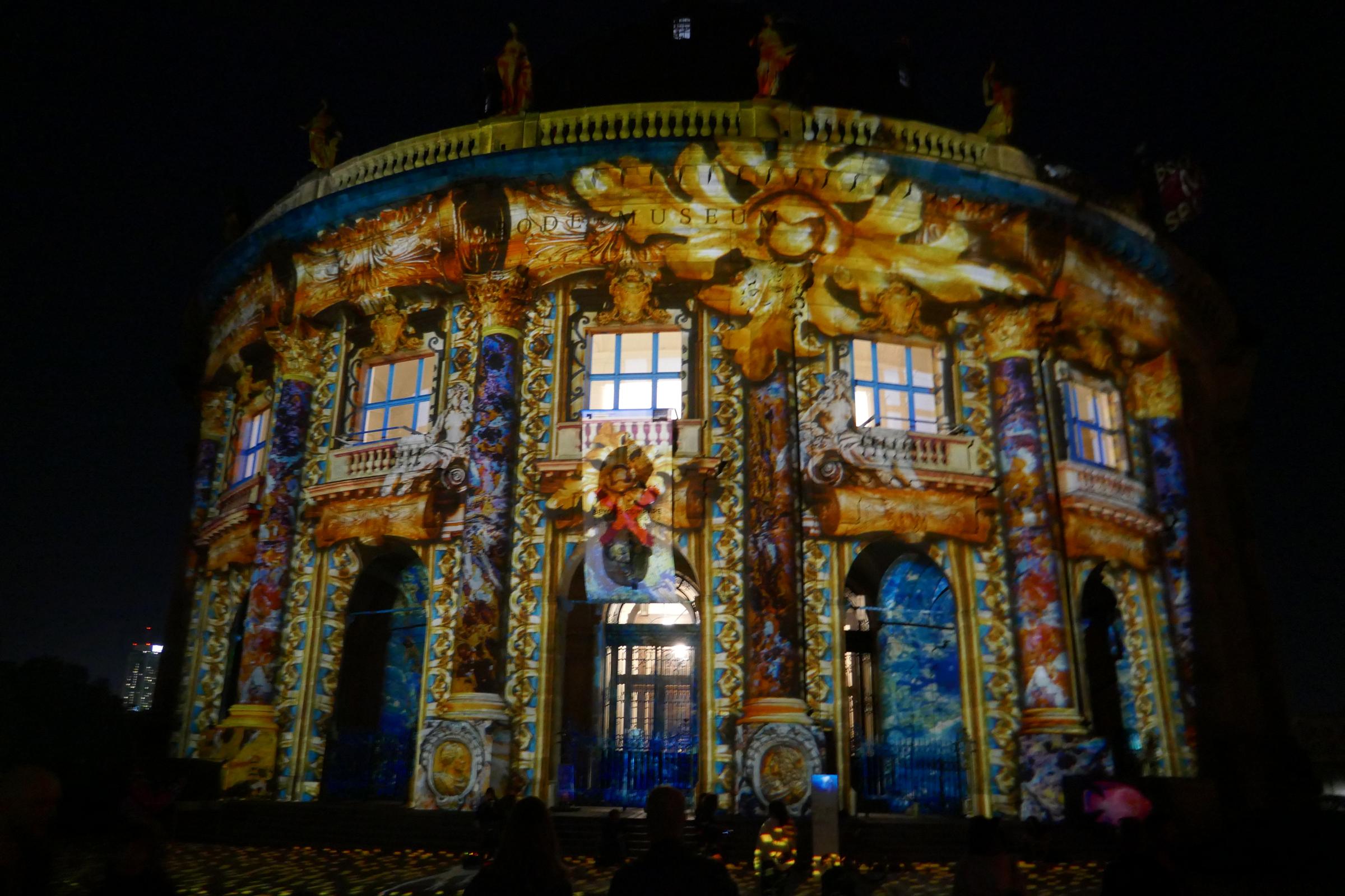 Lichterfest 2018: Bodemuseum. Foto: Ulrich Horb