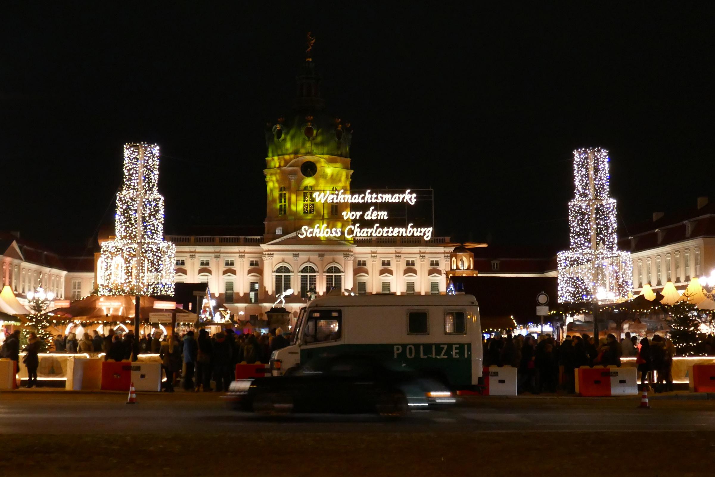 Weihnachtsmarkt am Schloss Charlottenburg. Foto: Ulrich Horb