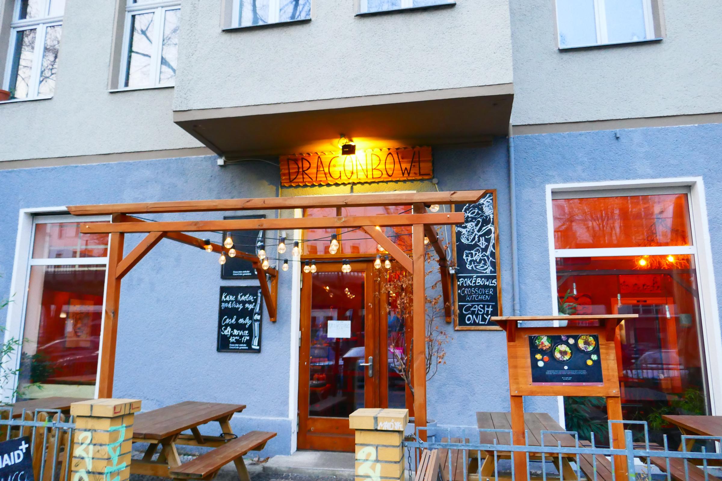 """Kreuzberger Lokal """"Dragonbowl"""". Foto: Ulrich Horb"""
