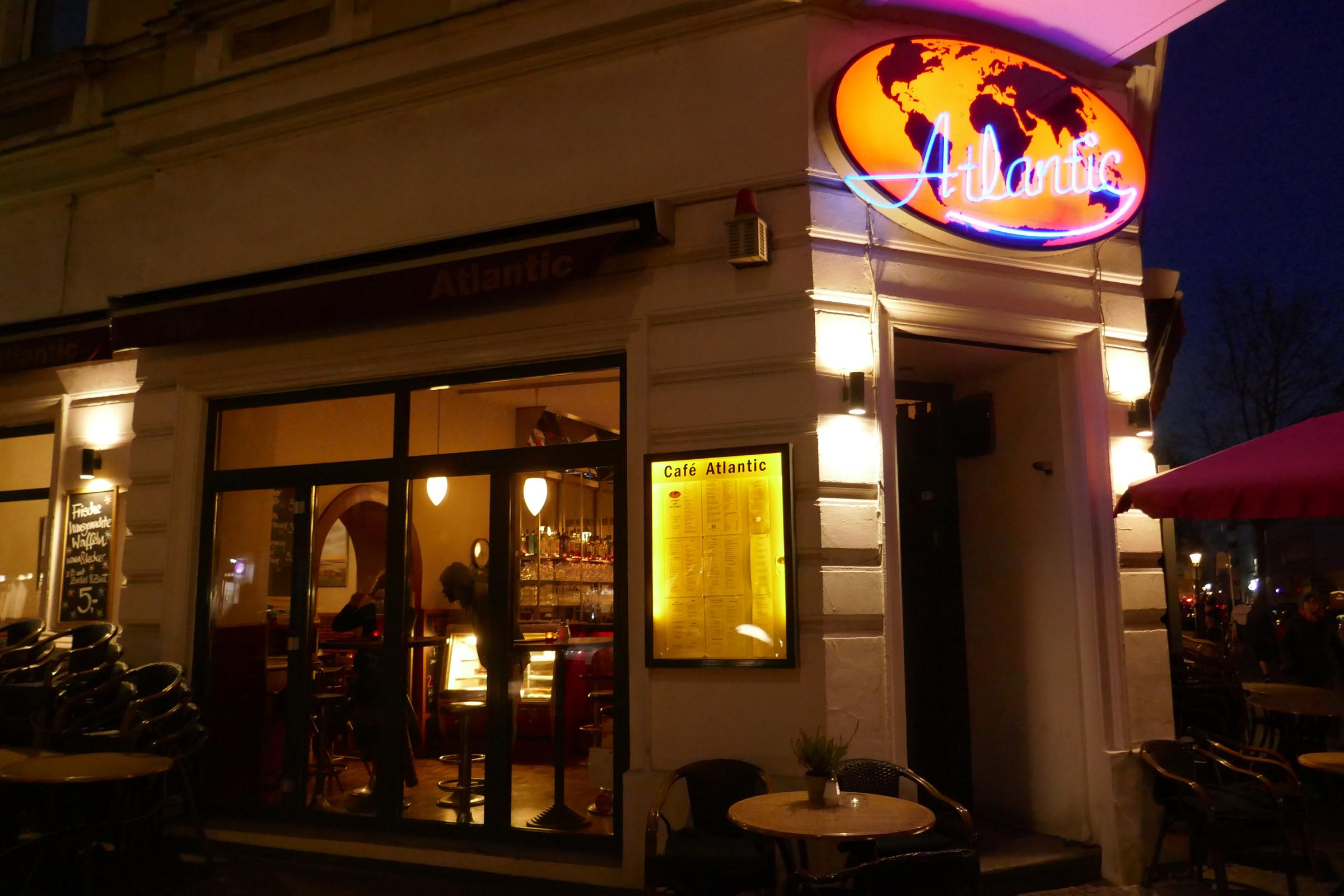 Café Atlantic an der Bergmannstraße 100. Foto: Ulrich Horb
