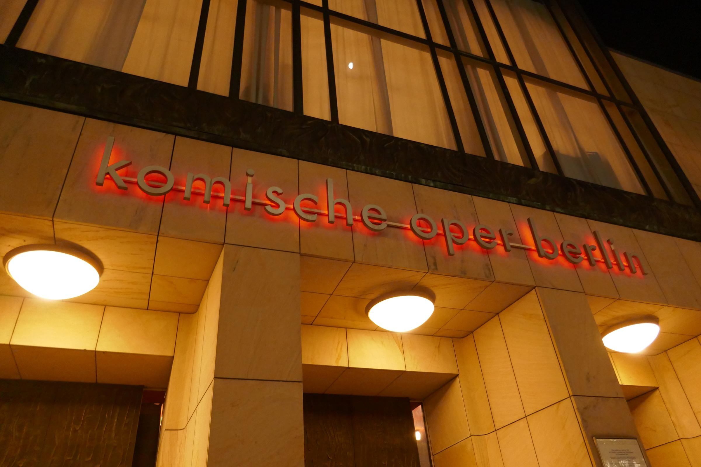 Komische Oper in der Behrenstraße. Foto: Ulrich Horb