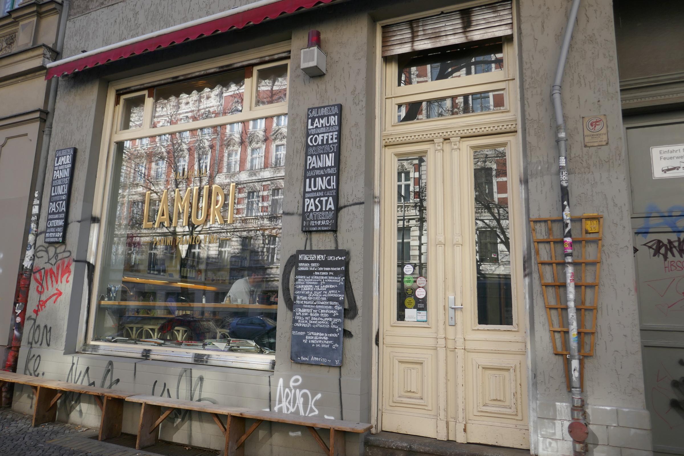 Feinkostladen und Restaurant: Salumeria Lamuri. Foto: Ulrich Horb