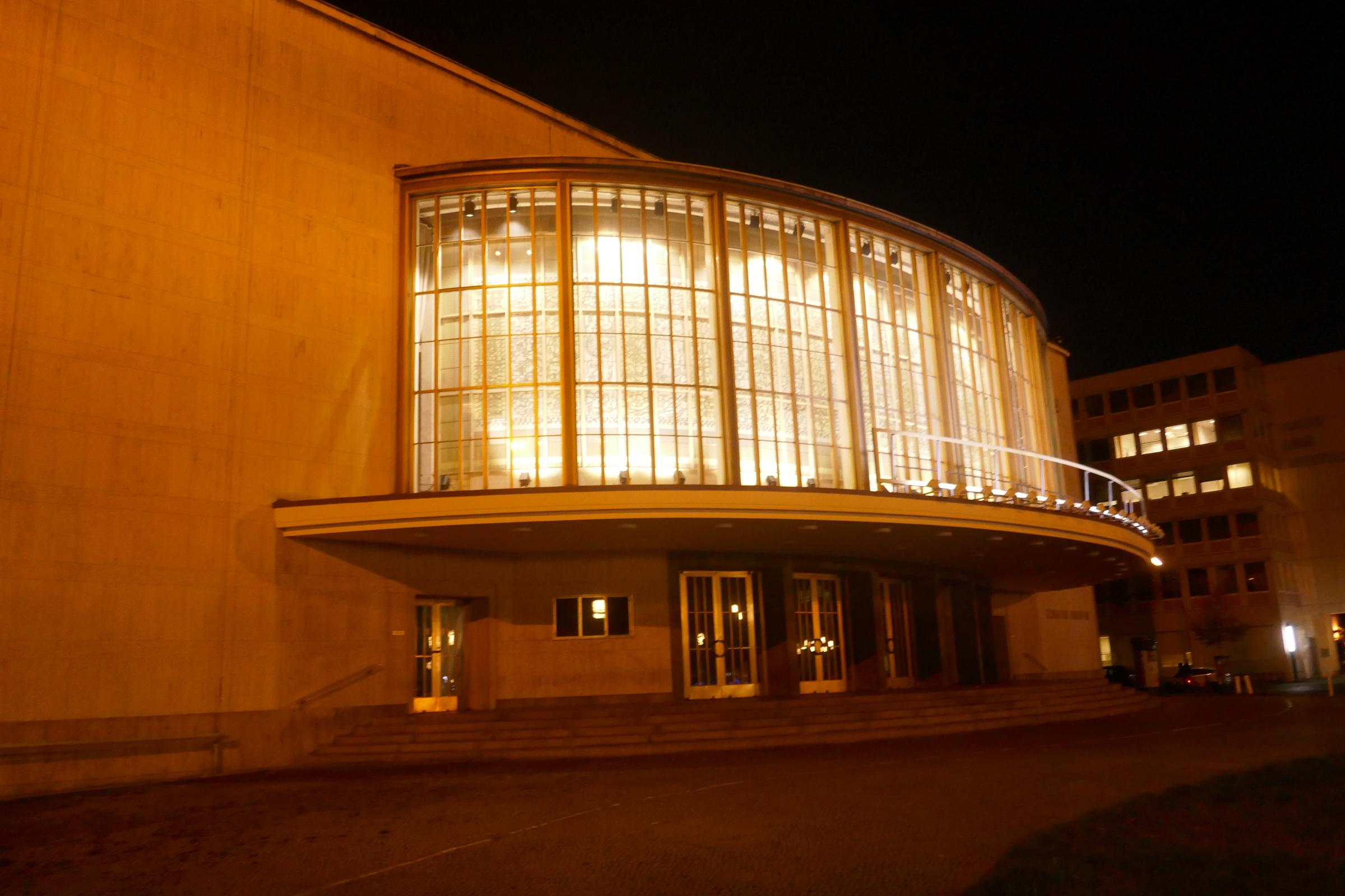 Das ehemalige Schillertheater in Charlottenburg. Foto: Ulrich Horb