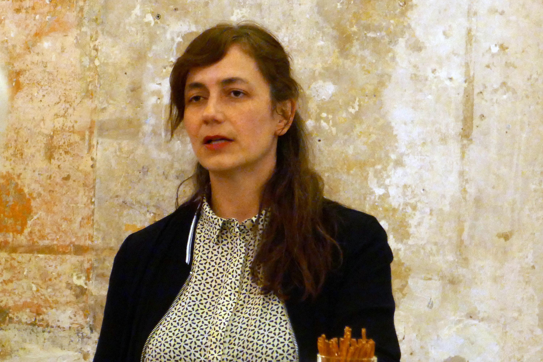 Franziska Werner, künstlerische Leiterin der Sophiensaele. Foto: Ulrich Horb