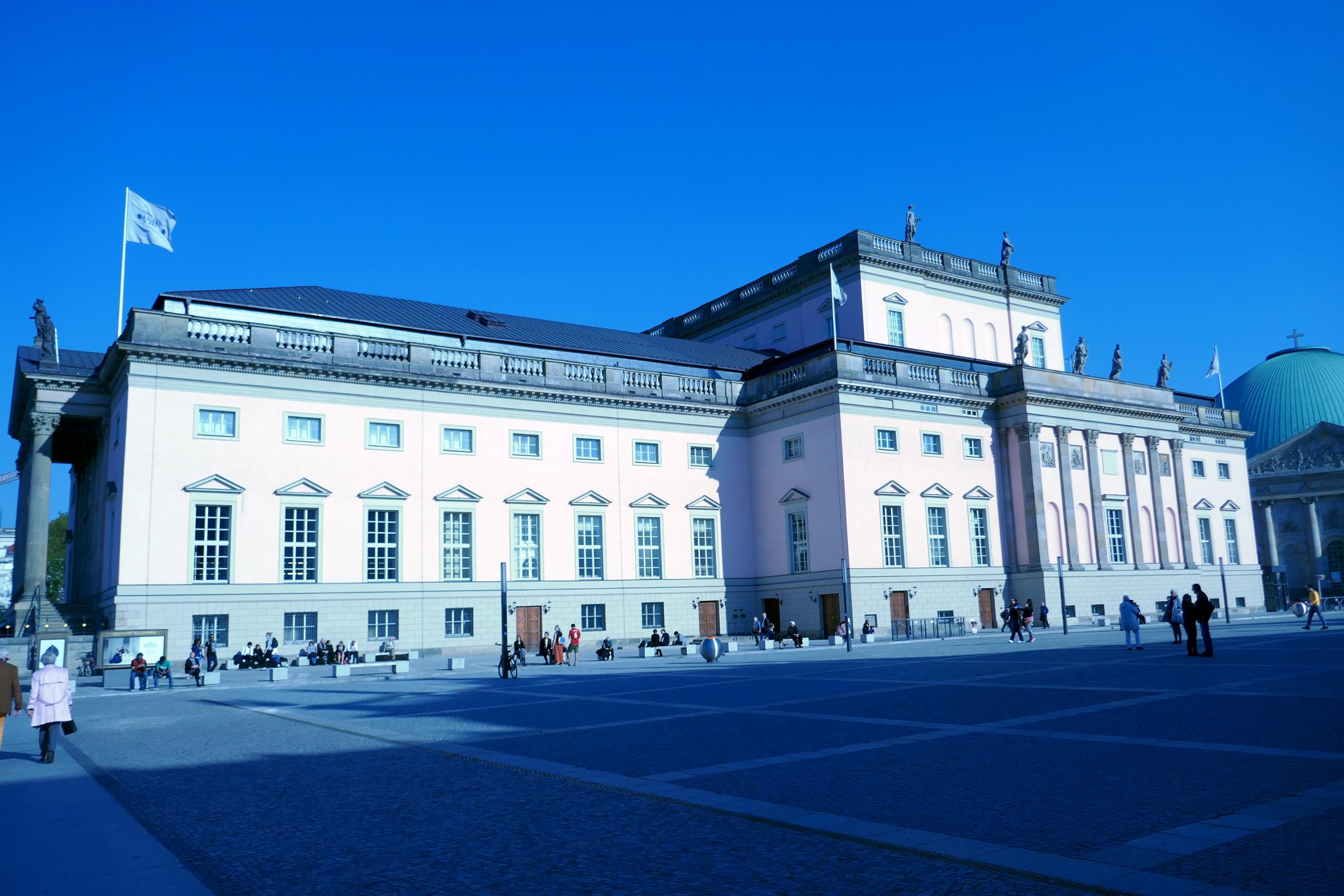 Staatsoper Unter den Linden. Foto: Ulrich Horb