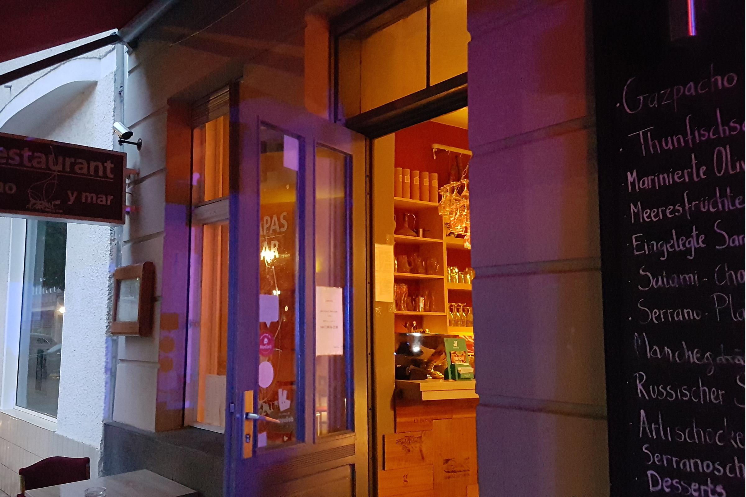 "Restaurant ""Tapas Vino y Mar"". Foto: Ulrich Horb"