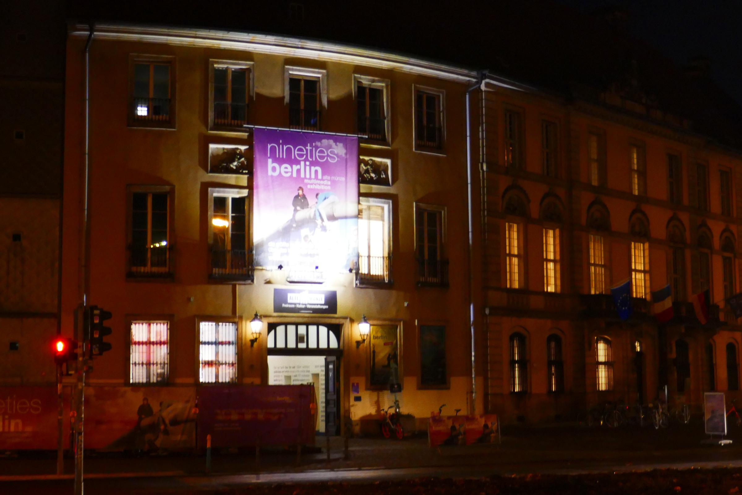 """Ausstellung """"Nineties"""" in der Alten Münze. Foto: Ulrich Horb"""