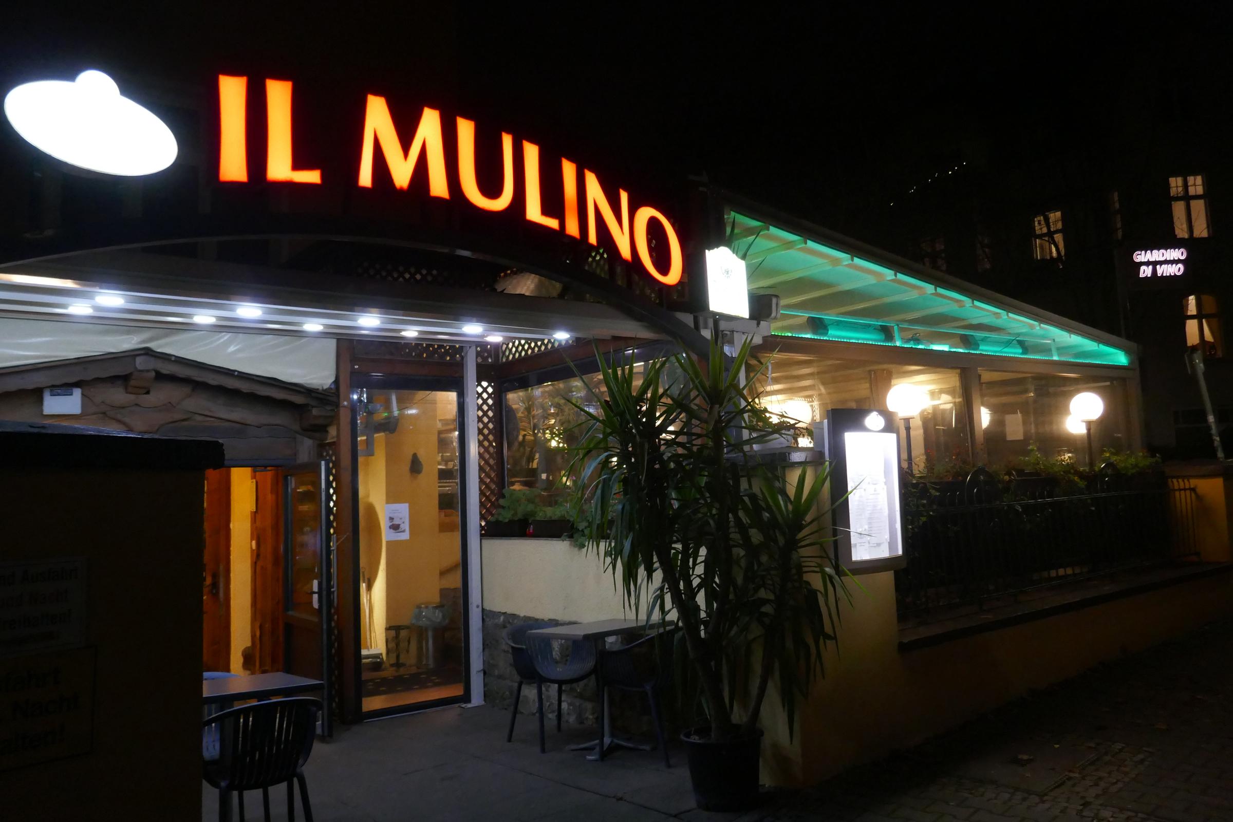 """Restaurant """"Il Mulino"""" in Lichterfelde. Foto: Ulrich Horb"""