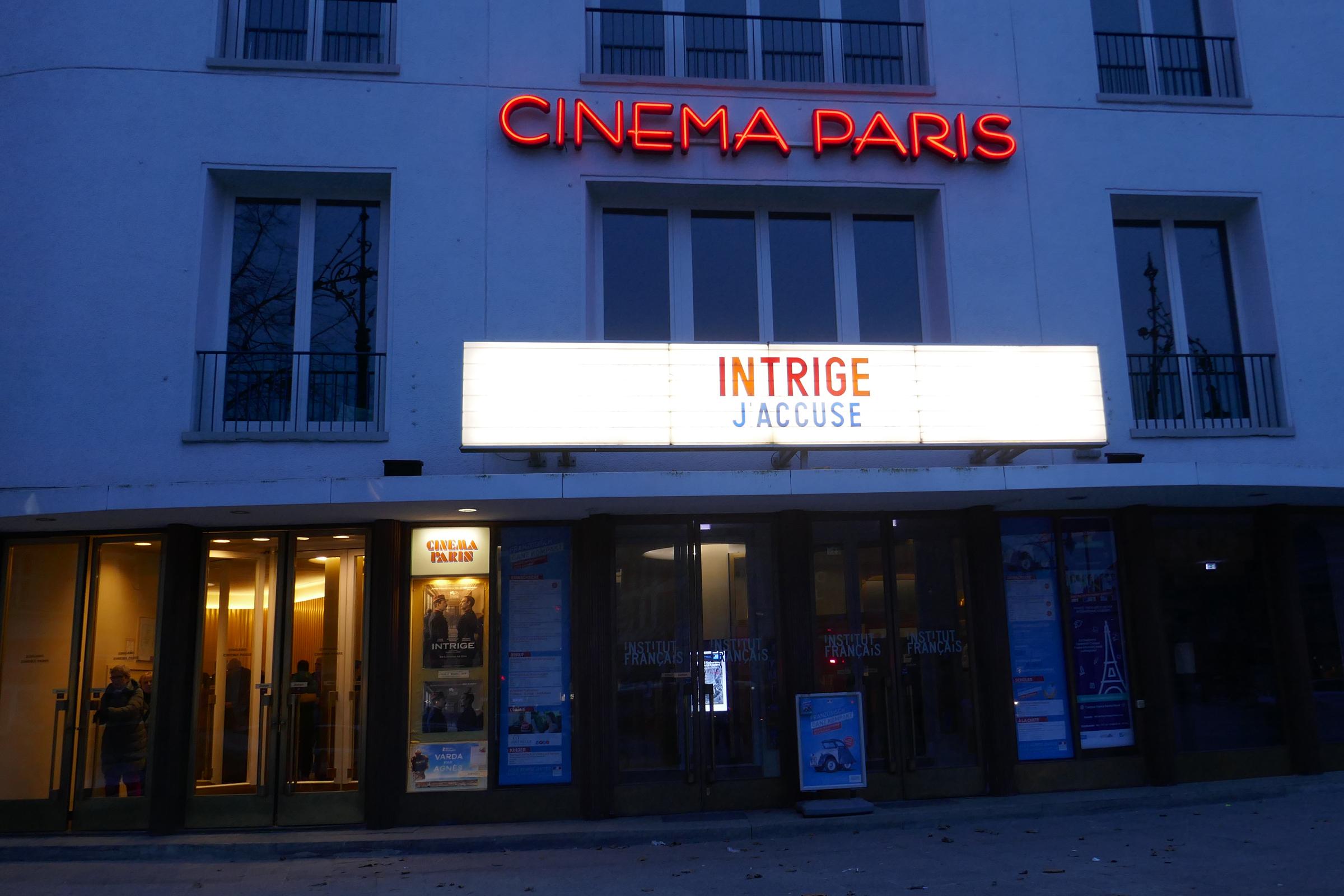 Cinema Paris, Programmkino am Kurfürstendamm. Foto: Ulrich Horb