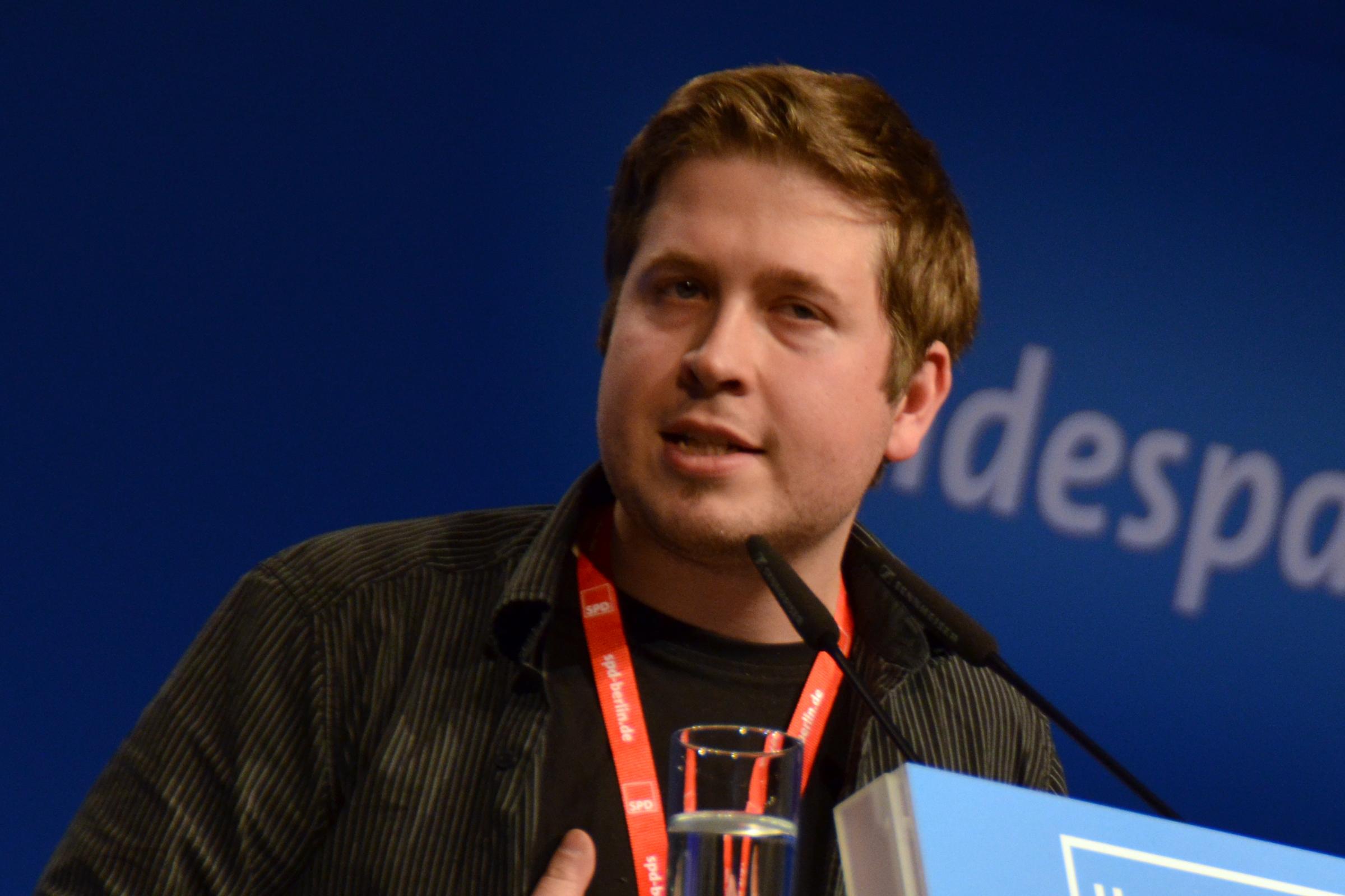 Kevin Kühnert. Foto: Ulrich Horb